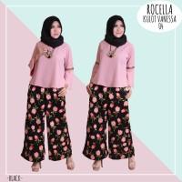 Kulot Vanessa by Rocella | Celana Muslimah - Kulot Motif