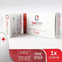 ONESTEP HIV TEST- ALAT BANTU KESEHATAN - TES TERPERCAYA AKURAT MEDIS.-