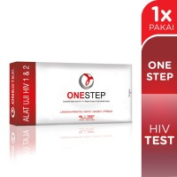 One Step HIV Test - test pack self check test HIV sendiri - 89120