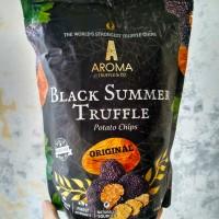 AROMA Black Summer Truffle Potato Chips Original 115 Gram (Singapore)