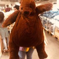 boneka beruang besar/boneka ikea/mainan edukasi/doll/mainan anak