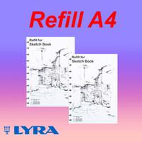 Refill / isi ulang Lyra Sketchbook A4