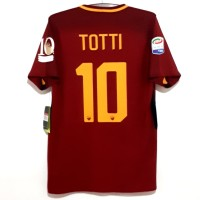 Jersey AS Roma original Aeroswift 2017-2018 Last Match Totti BNWT L
