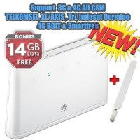 Fwt Gsm Huawei B310 4G LTE Home Router Wifi Plus Telpon all Operator