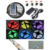 KSM Led Strip Flexible Light Waterproof 5050 RGB 5M with Remote
