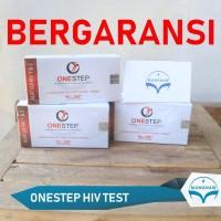 One Step Test HIV onestep device penyakit hiv mantul