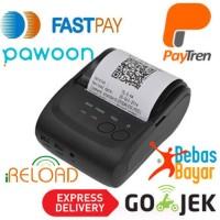 taffware Zjiang Printer Resep Kasir Thermal Bluetooth - ZJ-5802 - Blac