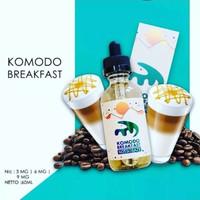 Komodo breakfast not so lazy premium liquid vape vapor