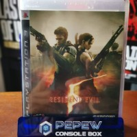 PS3 BD 2nd Resident evil 5 Reg 3