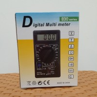 Digital Multimeter Avo Meter Digital Multitester Pocket DT830D