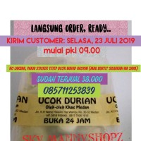 Durian Medan Ucok/Duren Ucok/Durian Kupas Ucok/Paket Hemat Duren Ucok