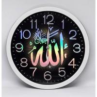 Jam Dinding Ogana Nuansa Islami Kaligrafi (Rainbow Colour)