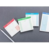 [ GRATIS ONGKIR ] Memo Checklist, Weekly Planner, Monthly Planner
