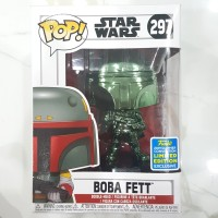 Funko POP! Star Wars - Boba Fett Green Chrome (SDCC 2019 Exclusive)