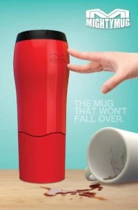 C O D Mighty Mug Anti Tumpah !!! - Biru