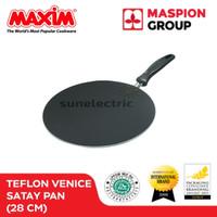 Wajan Pemanggang (Ikan / Sate) Teflon 28 cm MAXIM Venice Satay Pan
