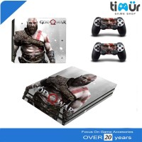 Skin Sticker PS4 Fat Dan Slim Decal Vinyl God Of War