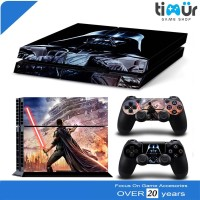 Skin Sticker PS4 Fat dan Slim Decal Vinyl Death Invander