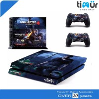 Skin Sticker PS4 Fat Dan Slim Decal Vinyl Uncharted 4