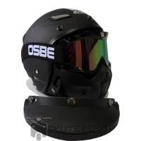Helm JPN Momo Vintage   Goggle Mask OSBE Retro Jap Style Motocross