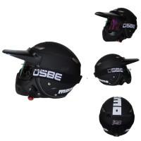 Helm JPN Momo Vintage   OSBE Goggle Mask Jap Style Motocross Visor