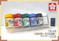 Sakura Poster Colors - Basic Set