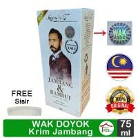 Cream Jambang Wak Doyok 75ml Malaysia Original Krim Wakdoyok ORIGINAL