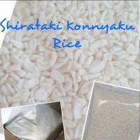 Beras Shirataki 1 Kg Konnyaku Rice Low Carbs, Rendah Kalori