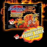 Mie Sedaap Instant Selection Korean Spicy Chicken 87gram
