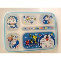 PROMO Lunch box X 9006 Sekat 6 / Kotak Makan YooYee DORAEMON BIRU