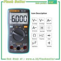 KGZ RICHMETERS Pocket Size Digital Multimeter AC/DC Voltage Tester - R