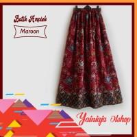 Rok panjang motif batik murah