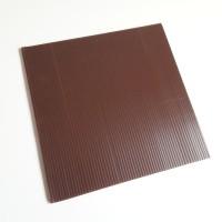 Tatakan Kue Coklat Persegi uk. 25 / Alas Kue Infraboard Coklat