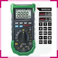 Digital Multimeter AC DC Mastech MS8268 Multitester Tester Listrik