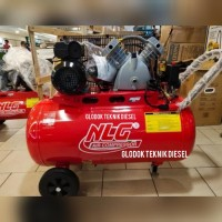 NLG AIR COMPRESSOR 2 HP 100 L 1 PHASEBAC 1020 KOMPRESOR ANGIN