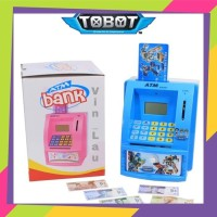 mainan Celengan ATM Mini Bhs Indonesia ( DISTRIBUTOR)