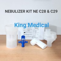 Nebulizer Kit Set Original Omron for NE C28 Tempat Obat Nebu NEC 28