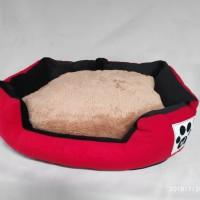Tempat Tidur Anjing Kucing Pet Bed Ranjang Kasur Kucing Anjing 60x45cm