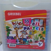 Crayon Greebel oil pastels pp-55C / 55 Warna