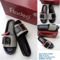 SANDAL Fladeo / Sandal Selop Wanita Fladeo / sandal wedges sol tebal