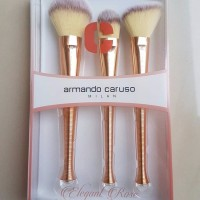 Armando Caruso 901RG Rose Gold Basic Face 3pc Brush Set