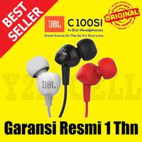 JBL C100SI In-Ear Headphones with Mic Earphone Headset Headphone