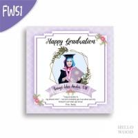 Kado Wisuda Ulang Tahun Nikah - Custom Hiasan Pajangan Dinding FW51-54