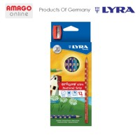 LYRA GROOVE SLIM - COLOR PENCIL - BOX 12 COLORS - 2821120