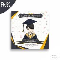 Kado Wisuda Ulang Tahun Nikah - Custom Hiasan Pajangan Dinding FW26-29