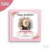 Kado Wisuda Ulang Tahun Nikah - Custom Hiasan Pajangan Dinding FW40-43
