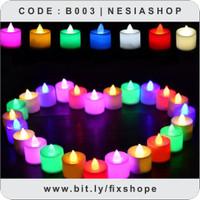 NESIAPEDIA-Lilin Mini LED Lampu Elektrik Candle Light Dekorasi