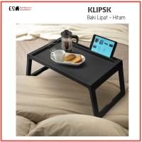 KLIPSK MEJA BAKI LIPAT PROMO IKEA SUPER MURAH