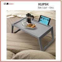 MEJA BAKI LIPAT KLIPSK IKEA PROMO SUPER MURAH