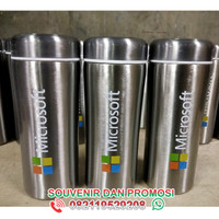 tumbler prowel tumbler stainless 360 ml promosi - custom logo